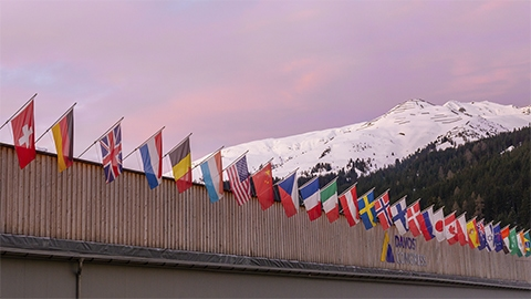 Dispatch From Davos: Sustainability in Sharp Focus