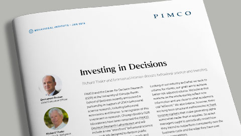 Investing in Decisions